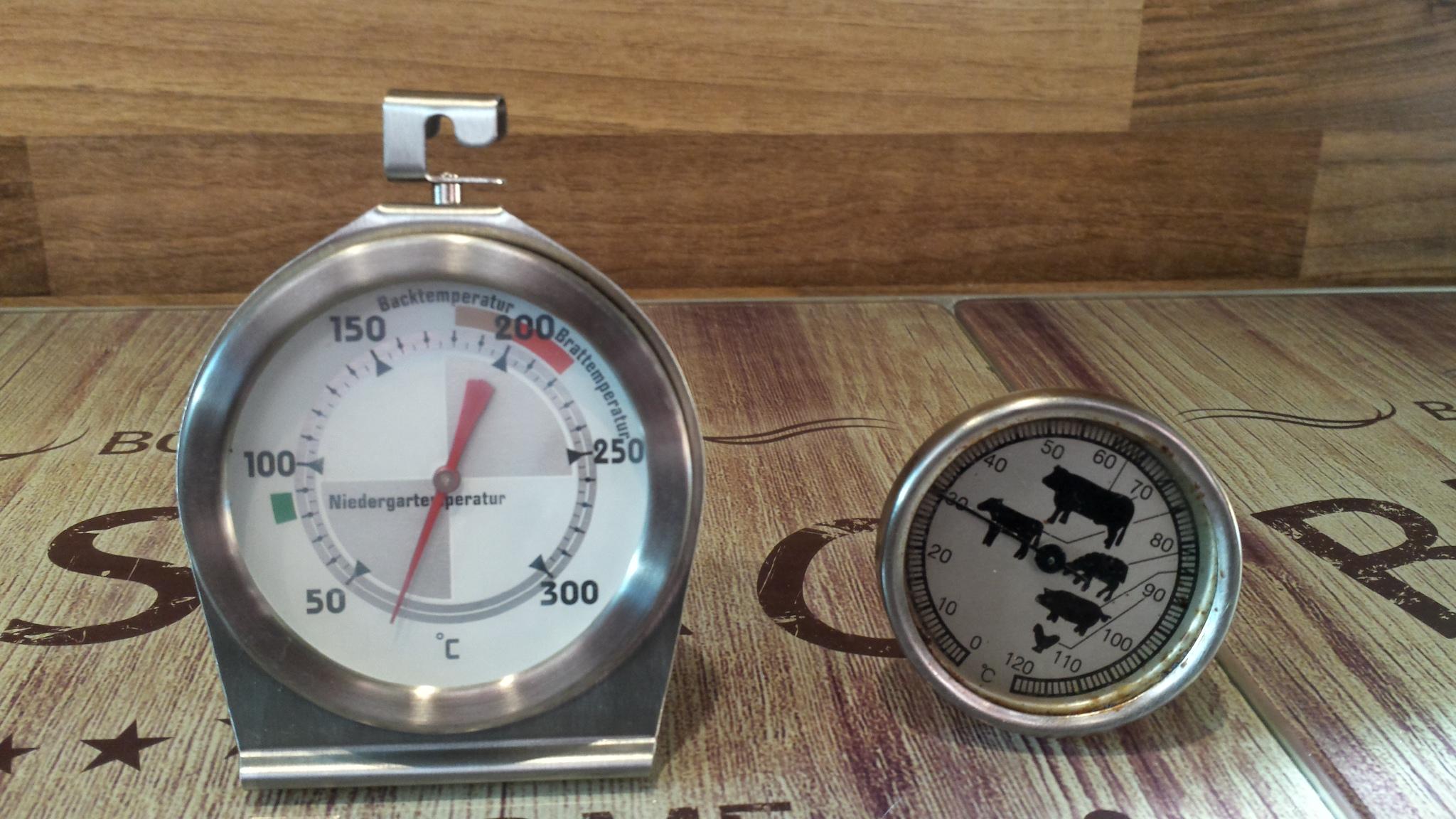 Meine Ausstattung – Thermometer
